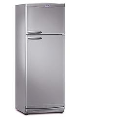 Heladera con freezer BAMBI 2F-1600P  328Lts. Plata