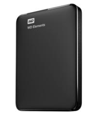 Disco Rígido portátil WD Elements WDBUZG0010BBK 1TB