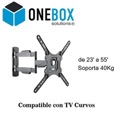 soporte para tv led Brazo  ONEBOX  OB-EMC25
