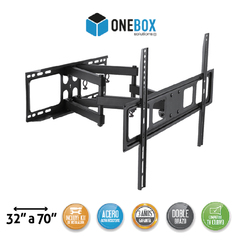 Soporte Para Tv Led Movil ONEBOX OB-MC37