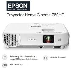 PROYECTOR EPSON  760HD   3300Lum