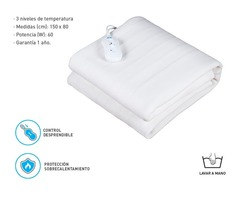 Climatizador de cama SILFAB MTS100 para 1 plaza