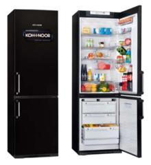 Heladera con freezer Koh-I-Noor KGB-4094/7 347 Lts. Negro
