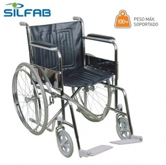 Silla De Ruedas Silfab Standard Fija Ancho 41 Cm. S3010/41