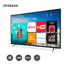 TV LED HITACHI 55'  SMART  4k  554KSMART18