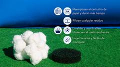 Pompones para filtro de pileta Pelopincho