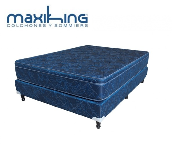 Sommier maxiking picasso azul