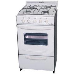 Cocina ESCORIAL CANDOR 4 Hornallas 50 cm blanca - Gas Envasado