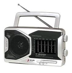 RADIO UNISEF Dual AM/FM/SW1 7 Bandas R-923