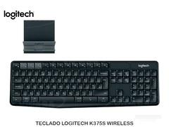 TECLADO LOGITECH  WIRELESS K375S BLACK
