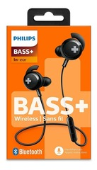 AURICULARES IN EAR PHILIPS BLUETOOTH SHB4305 - BLACK