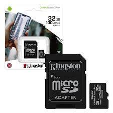 MEMORIA MICRO SD KINGSTON CANVAS SELECT PLUS 32GB