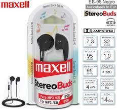 AURICULARES IN EAR MAXELL EB95 CON MICROFONO