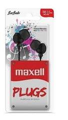 AURICULARES IN EAR MAXELL IN 225 NEGRO