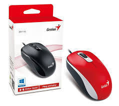 MOUSE GENIUS DX-110 RED USB