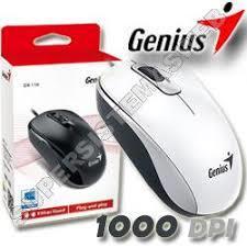 MOUSE GENIUS DX-110 WHITE USB