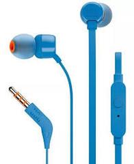 AURICULARES IN EAR JBL T110 CON MICRÓFONO BLUE