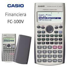 CALCULADORA FINANCIERA CACIO FC 100V