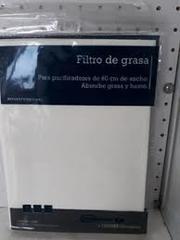 FILTRO ANTIGRASA SPAR BOLSA 0261