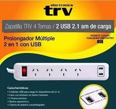 PROLONGADOR TRV 4 TOMAS 2 USB