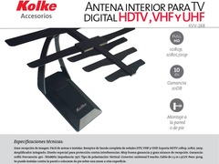 ANTENA KOLKE KVV-288 DIGITAL INTERNA