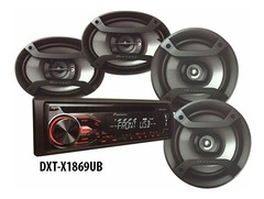 AUTOESTEREO PIONEER DXT-X1869UB C/CD 4 PARL.
