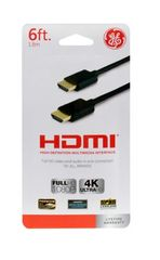 CABLE HDMI GENERAL ELECTRIC 1.8MT