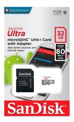MEMORIA MICRO SD SANDISK ULTRA 32GB CL10