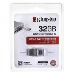 MEMORIA PEN DRIVE KINGSTON 32GB DTDUO
