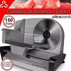 CORTADORA DE FIAMBRES ULTRACOMB FS-6301
