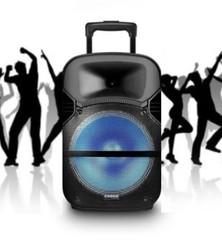 BAFLE POTENCIADO CROWN MUSTANG DJS-1201BT