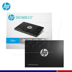 "DISCO SSD HP 120GB 2.5"" S600"