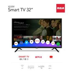 """TV LED 32"""" RCA XF32SM AMART TV"""